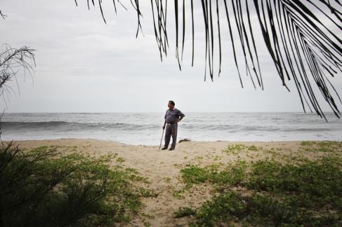 Trusty Guard at Marari Beach