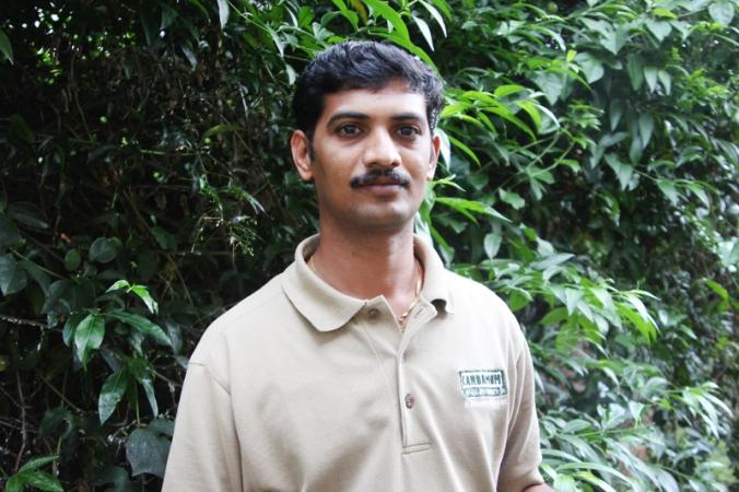 Meet Kamal from Cardamom County's housekeeping department!
