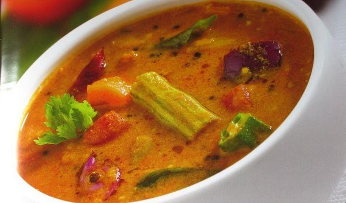 Indian Food Sambar Recipe