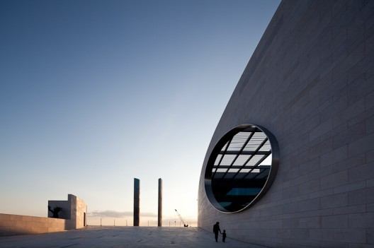 Champalimaud Centre for the Unknown in Lisbon, Portugal by Charles Correa Architects, photographed by José Campos of arqf architectural photography