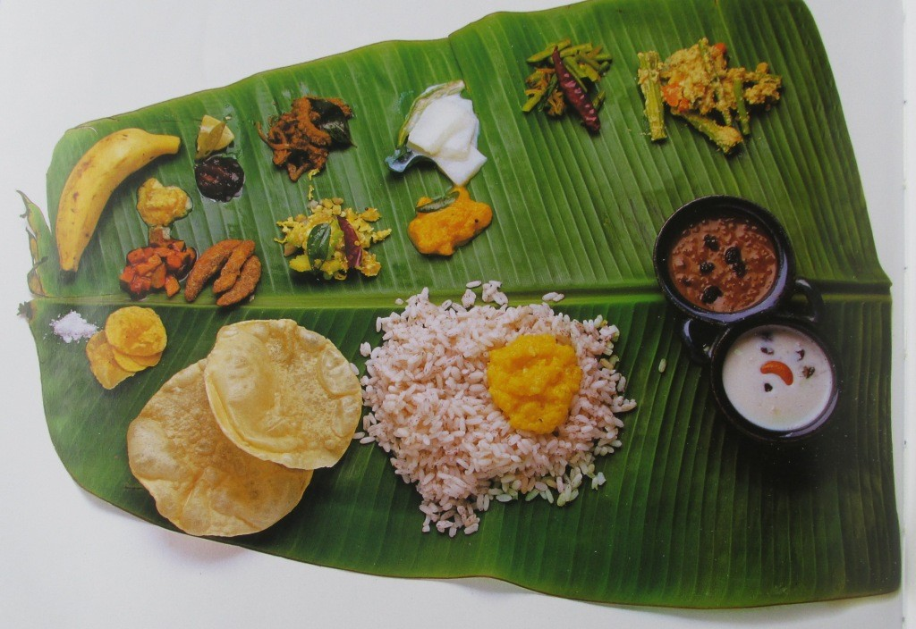 Flavours of kerala sadya la paz group for Cuisine of kerala