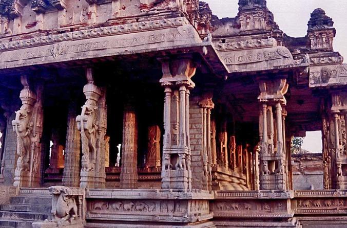 Musical pillars at Vitthala Temple in Hampi