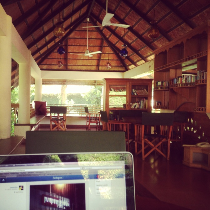 Working from the Cinnabar at Cardamom county credit Raxa collective