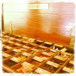 Dry medicine storage at Ayura Wellness center at Cardamom County credit Ea Marzarte