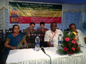 Crist and Amie of Raxa Collective on the panel of Nanma Sahaya Samithi (c) Ea Marzarte