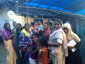 Nanma Shaya Samithi bursars and their families (c) credit Ea Marzarte - Raxa Collective
