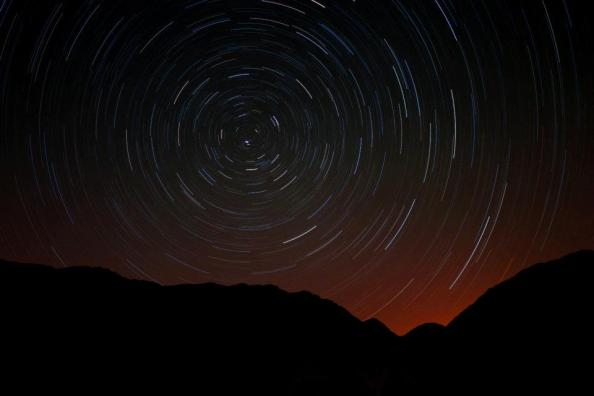 Long exposure photo from Wadi Dana, Jordan Credit: Milo Inman