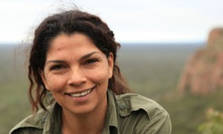 Biologist Erika Cuéllar says that unless the indigenous inhabitants are involved it will be impossible to save the biodiversity of the Gran Chaco. Photograph: Dan Collyns