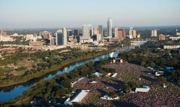 An expected 3,000 attendees are gathering in Austin, Texas, for SXSW Eco next week. Photograph: Austin CVB