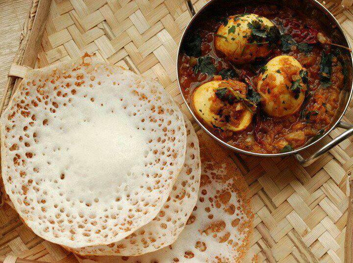 Flavours of kerala raxa collective for Appam and chicken stew kerala cuisine