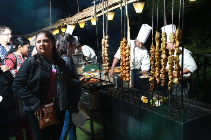 Live Kebab Counter
