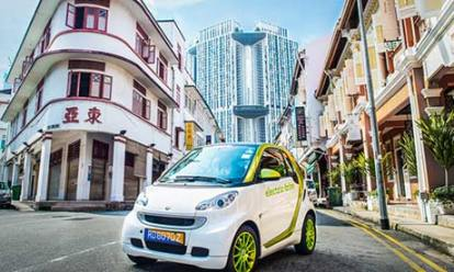 Bosch is testing the viability of electric cars in Singapore. Photograph: Samuel He/Bosch