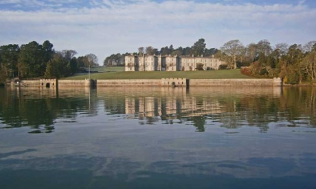 Plas Newydd National Trust property in Wales, where a new marine pump has been installed. Photograph: National Trust