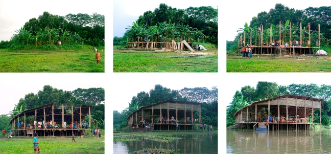 Panigram Resort banquet pavilion from start to finish (Photo by Karen Chi-Chi Lin)