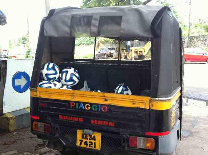 FIFA rickshaw