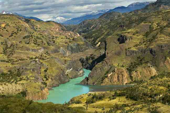 The Baker River flows through a rugged landscape in Patagonia, Chile. PHOTOGRAPH BY NIGEL HICKS, NATIONAL GEOGRAPHIC CREATIVE