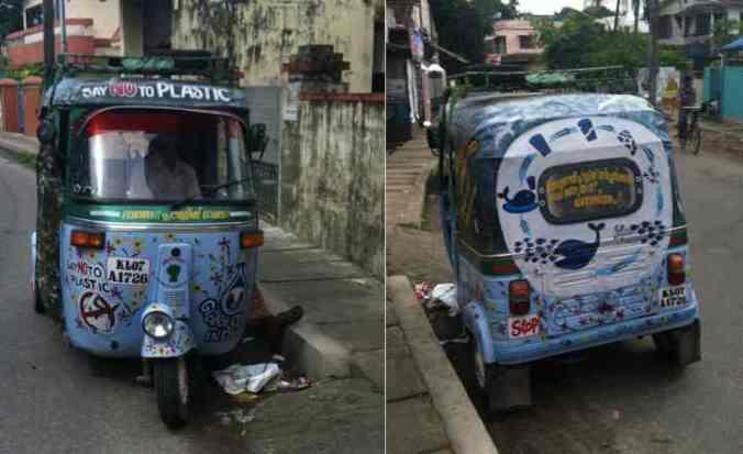 Ecologically Inspired Rickshaw