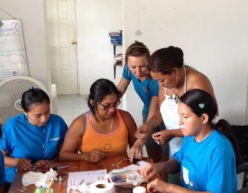 Jewelry workshop in Sarteneja