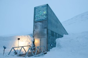 Travels to the seed vault on top of the world