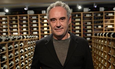 Ferran Adrià, of the award-winning restaurant elBulli. Photograph: Emmanuel Dunand/AFP/Getty Images