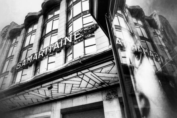 A plan to turn the old Samaritaine department store into a five-star hotel is at the center of a debate about what Paris is becoming. CREDIT PHOTOGRAPH BY DENIS ALLARD / REA / REDUX