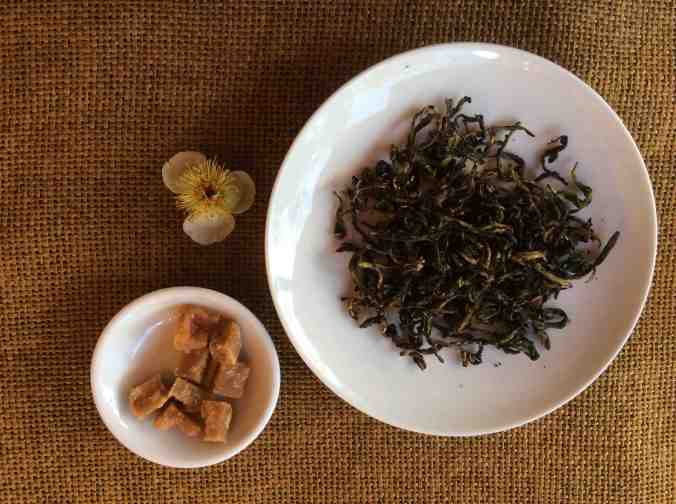 "Roasted Assam Tea ""nibble"" with cane sugar"