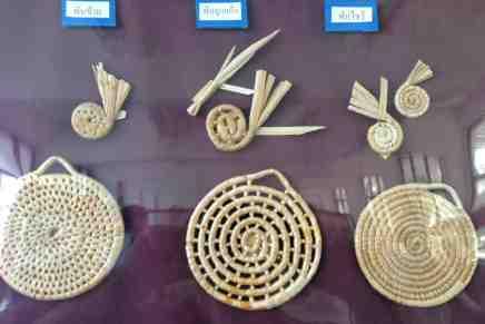 Water Hyacinth weave patterns