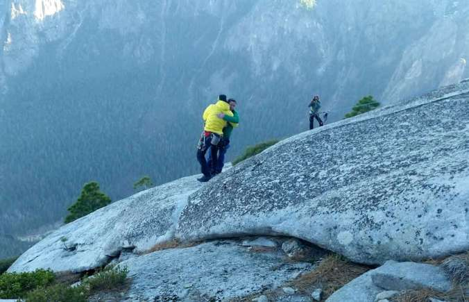 Yosemite climbers reach summit of El Capitan