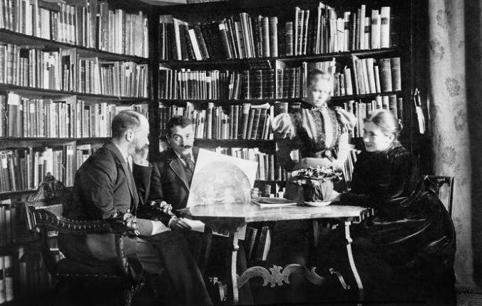 Aby Warburg (second from left) was the spirit behind the iconographic studies that dominated much of twentieth-century art history. CREDIT COURTESY THE WARBURG INSTITUTE At f