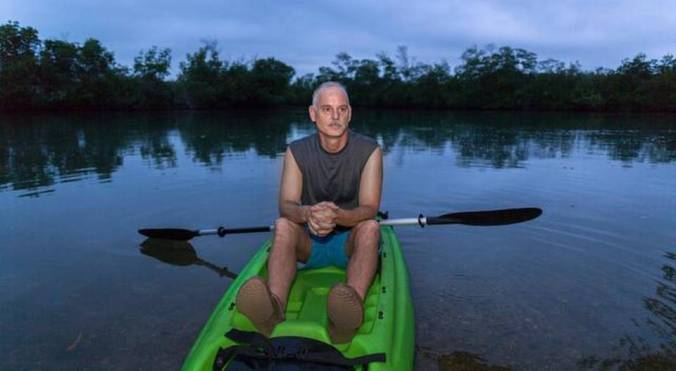 In 2013, Jim Harper, a nature writer in Miami, had a contract to write a series of educational fact sheets about how to protect the coral reefs north of Miami. 'We were told not to use the term climate change,' he said. 'The employees were so skittish they wouldn't even talk about it.' JOHN VAN BEEKUM FOR THE MIAMI HERALD