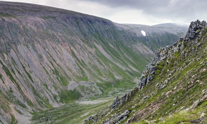 Làirig – 'a pass in the mountains' (Gaelic). Photograph: Rosamund Macfarlane
