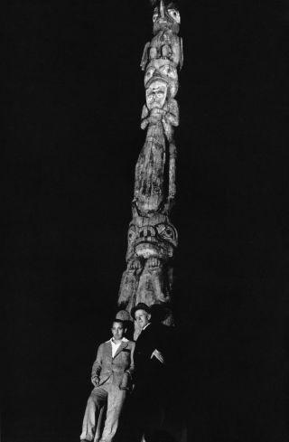 "John Barrymore, left, joked that ""tribal gods"" might ""wreak vengeance on the thief."""