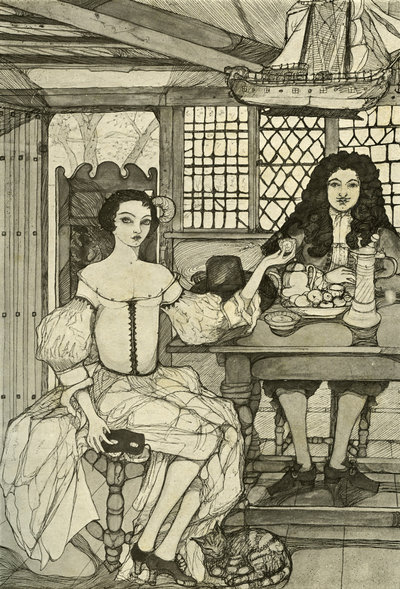 Catherine of Braganza was an early celebrity endorser of tea. After she wed Charles II, the fad for tea took off among the British nobility. Kitty Shannon/Corbis/Lebrecht Music & Arts