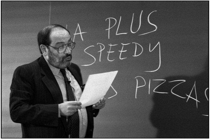 """In """"How to Write a Thesis,"""" Umberto Eco walks students through the craft and rewards of sustained research. CREDIT PHOTOGRAPH BY MARTINE FRANCK / MAGNUM"""