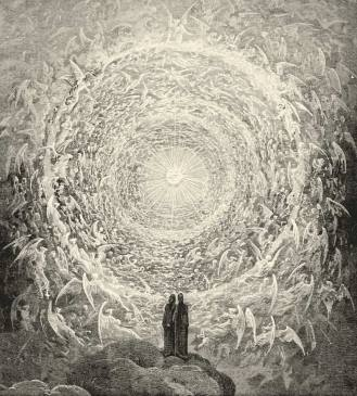 This be the destination that Dante Alighieri envisioned then: A love that moves the sun and other stars. ILLUSTRATION: Gustave Dore