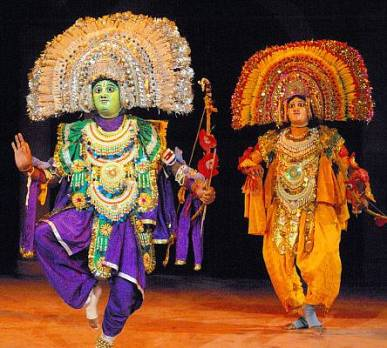 Chhau is performed in honor of the Cosmic God Shiva, known for his dance form Tandava. PHOTO: UNESCO