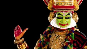 India's oldest theater form, Kuttiyattam is a synthesis of Sanskrit classicism and reflects the local traditions of Kerala. PHOTO: Kerala Tourism