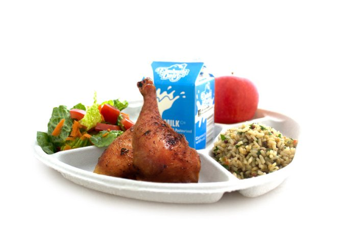 Polystyrene lunch plates are being shown the door in some US cities. PHOTO: NRDC