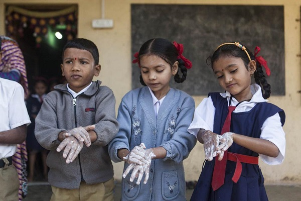 Sundara is a soap making operation in Mumbai that collects bar soap waste from hotels and recycles it for underprivileged children who cannot afford to buy soap. PHOTO: Sundara