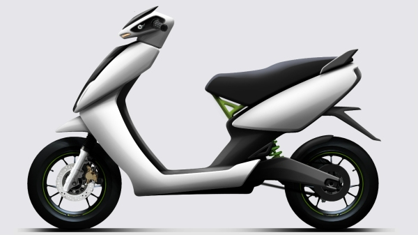 Ather Energy's e-scooter - S340 - is powered by a battery that charges within an hour