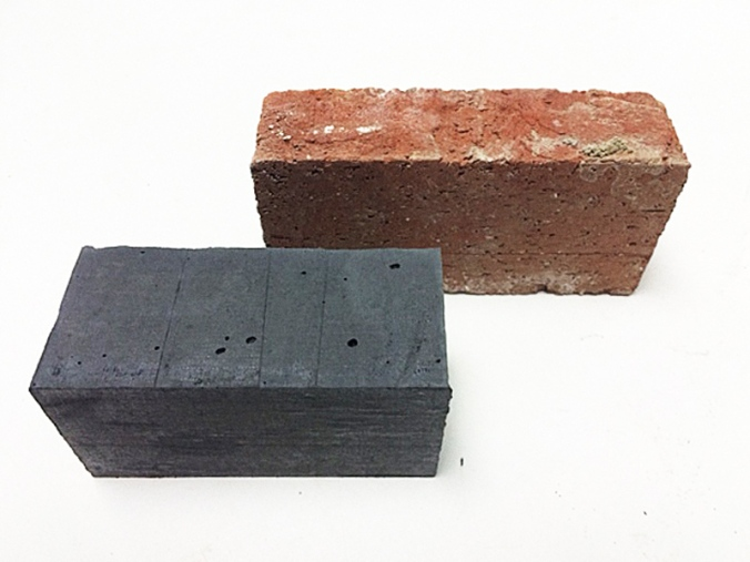 MIT students have created a brick that could end pollution from dirty brick kilns. PHOTO: CoExist