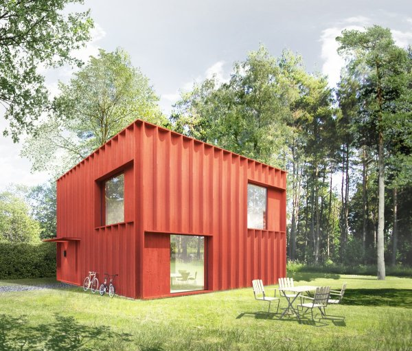 This Swedish house was designed by two million people. PHOTO: Tech Insider