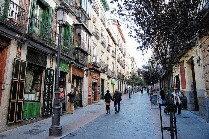 Madrid's car-free zone is just under 500 acres. Only people who live in the zone are allowed to take their cars inside. Those who want to drive in, but don't live in central Madrid, need to have a guaranteed space in one of the city's official parking lots