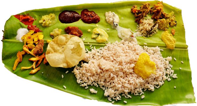 Eating on a banana leaf goes beyond the food; it's about science, energy, and teachings of yore. PHOTO: Wikimedia Commons