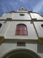 The facade of St Francis Xavier church, where Vasco da Gama was first buried. PHOTO: Rosanna