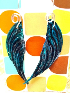 Lionfish Angel Earrings