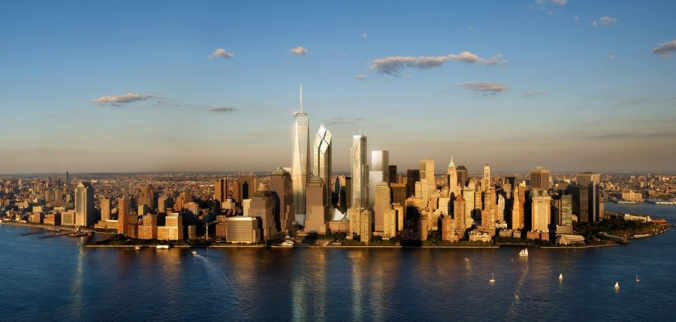 With New York packing so many buildings into a small area, the rooftops offer seemingly limitless potential to take homes off the grid. PHOTO: Business Insider