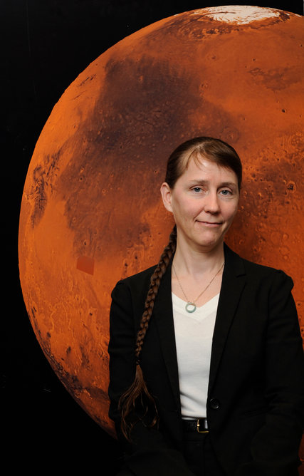 Catharine A. Conley, a NASA planetary protection officer. PHOTO: Paul E. Alers/NASA
