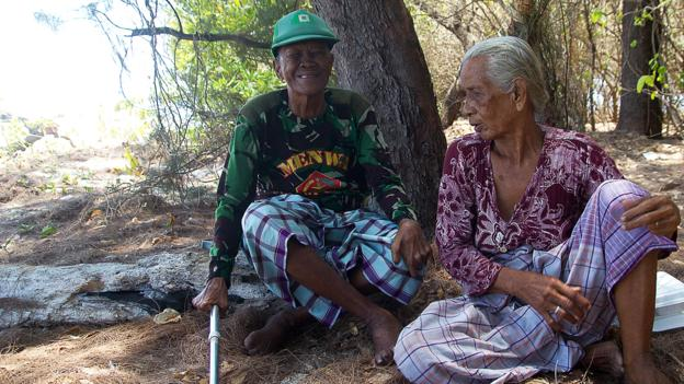 Despite living in utter isolation on a desert island for 40 years, one inspirational couple has overcome disability and blindness to make a difference. PHOTO: BBC