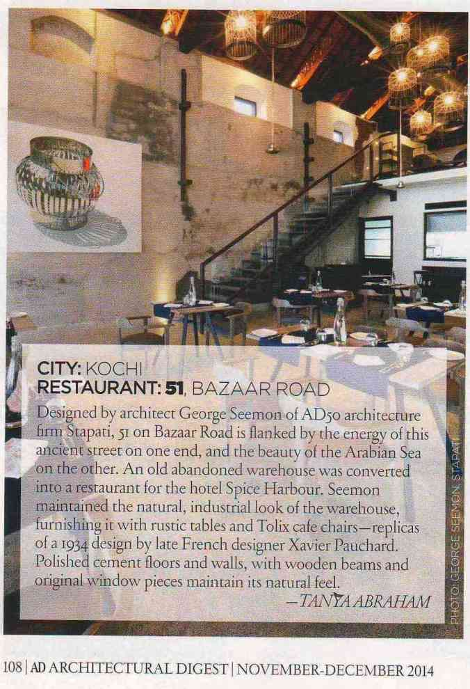 AD Restaurant Design Article - 51 Feature